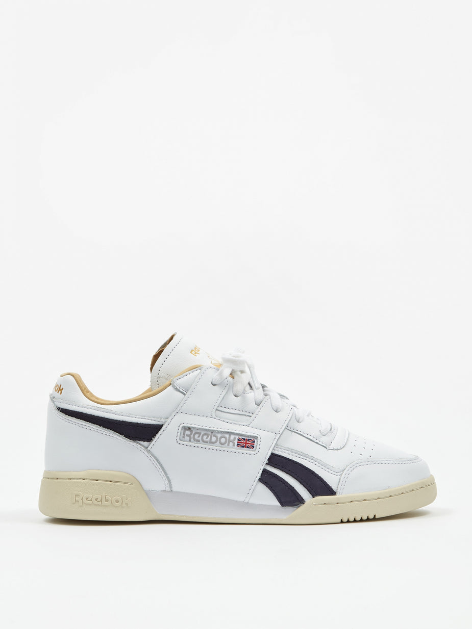 Reebok Reebok Workout Plus MU - White/Purple/Paper White - Purple