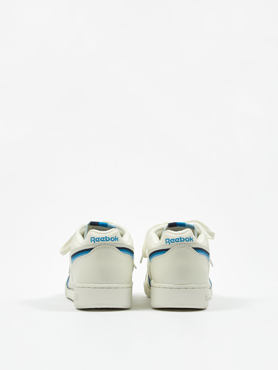 Reebok Reebok Workout Plus MU - Chalk/Navy/Cyan - Blue