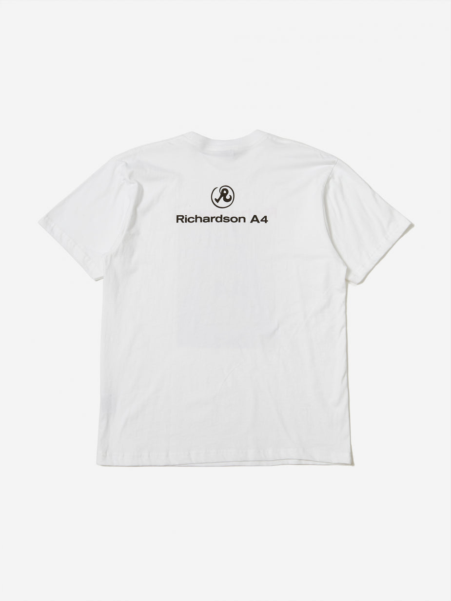 Richardson Richardson A4 Cover T-Shirt - White - White