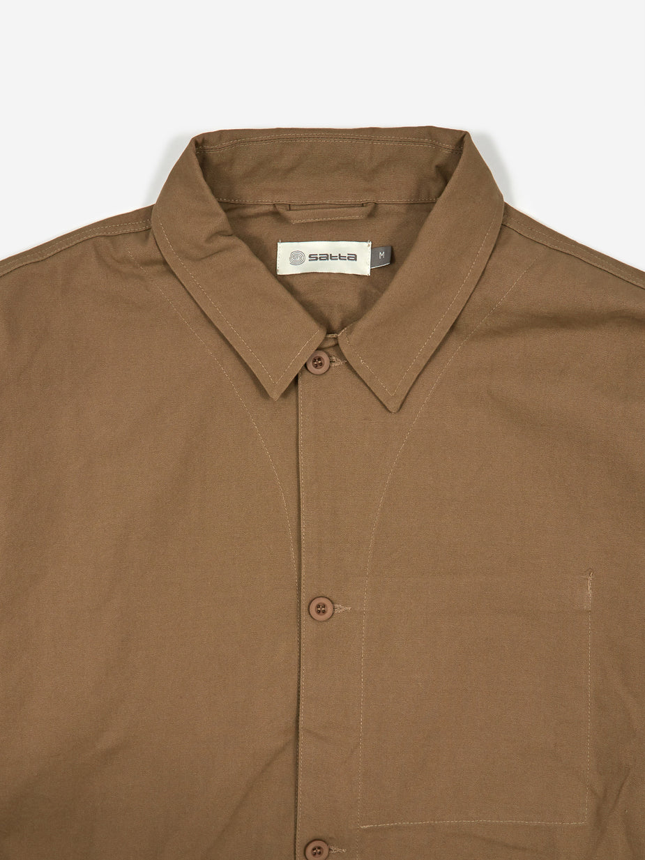 Satta Satta Allotment Jacket - Taupe - Neutrals