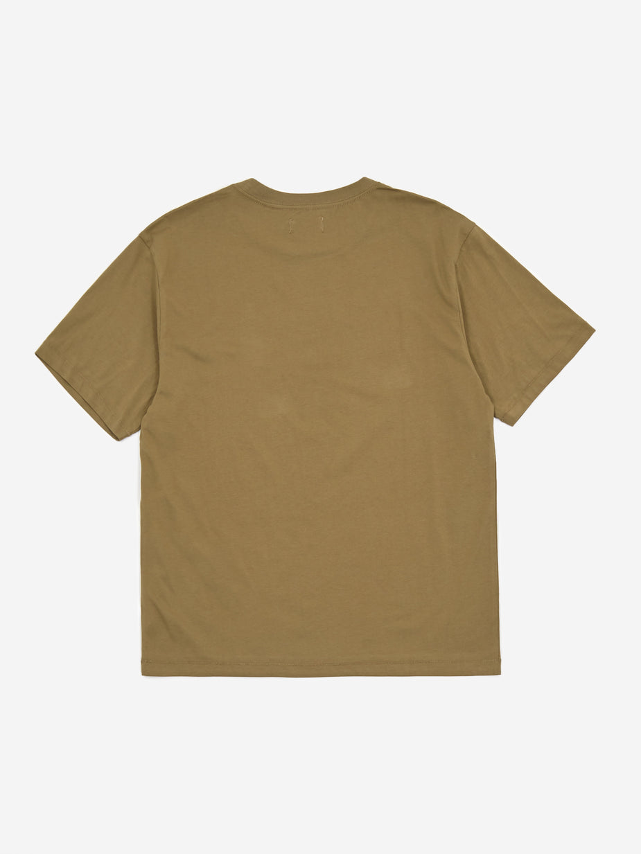 Satta Satta East Shortsleeve T-Shirt - Olive - Green