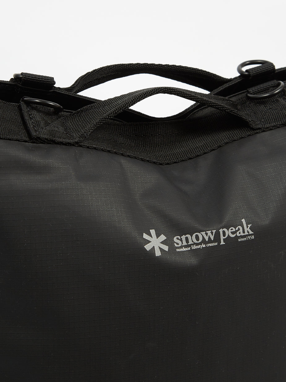 Snow Peak Snow Peak 2way Tote Bag - Black - Black