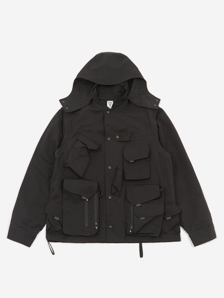 South2 West8 South2 West8 Tenkara Parka - Black - Black