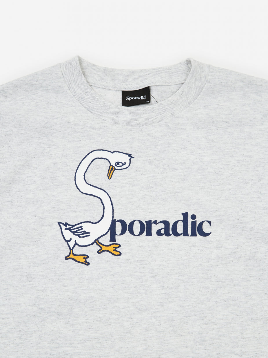 Sporadic Sporadic Goose Neck T-Shirt - Heather Grey - Grey