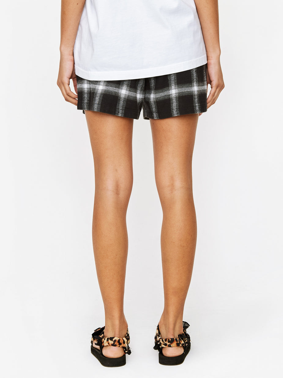 Stand Alone Stand Alone Check Short - Black - Black