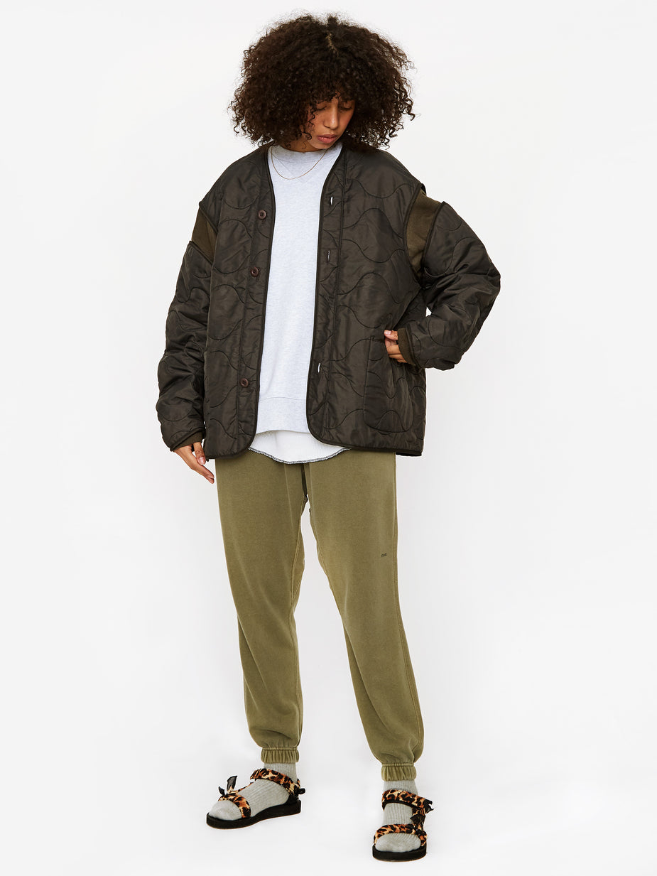 Stand Alone Stand Alone Liner Jacket - Khaki - Neutrals