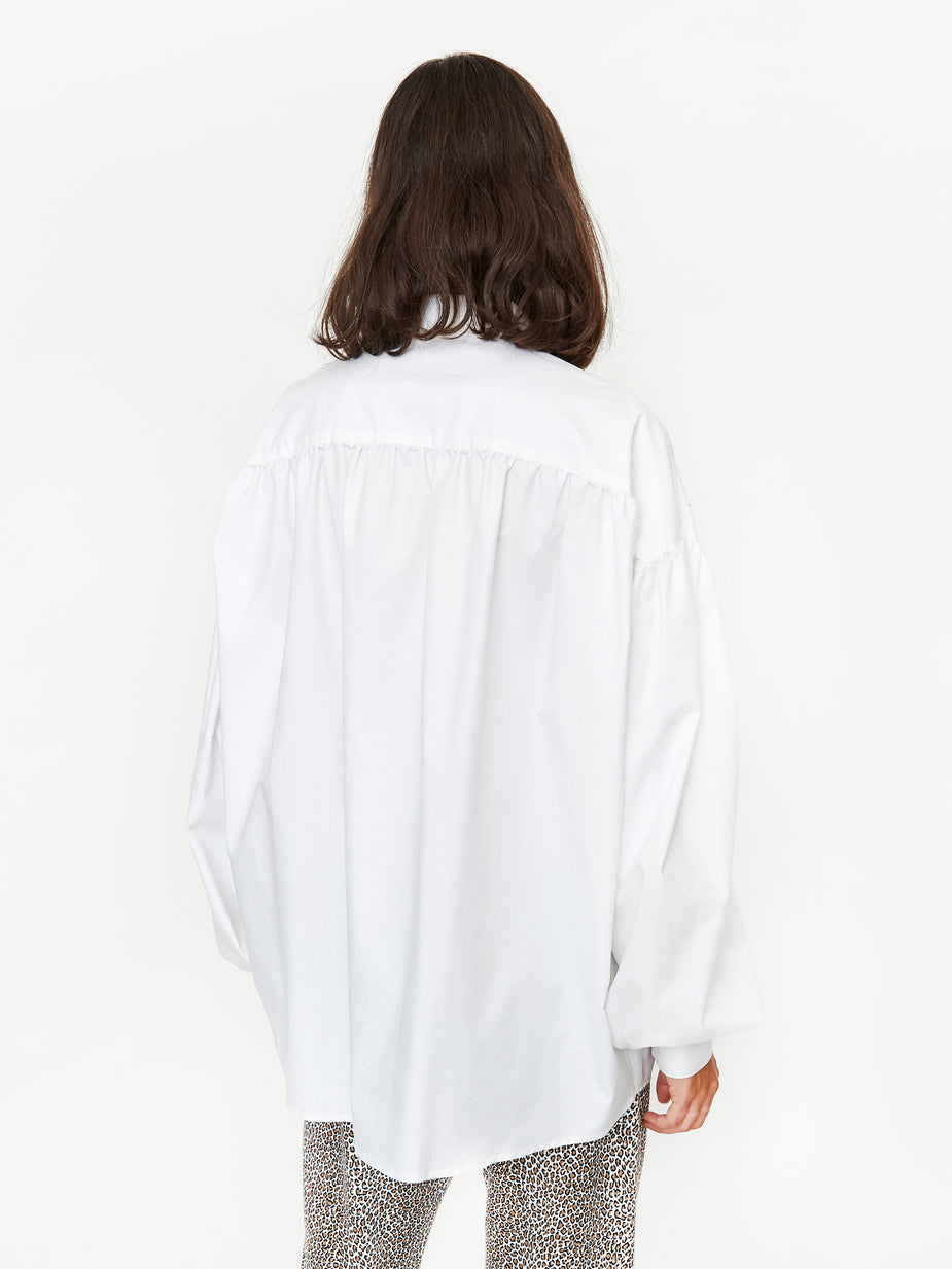 Stand Alone Stand Alone Longsleeve Shirt - White - White
