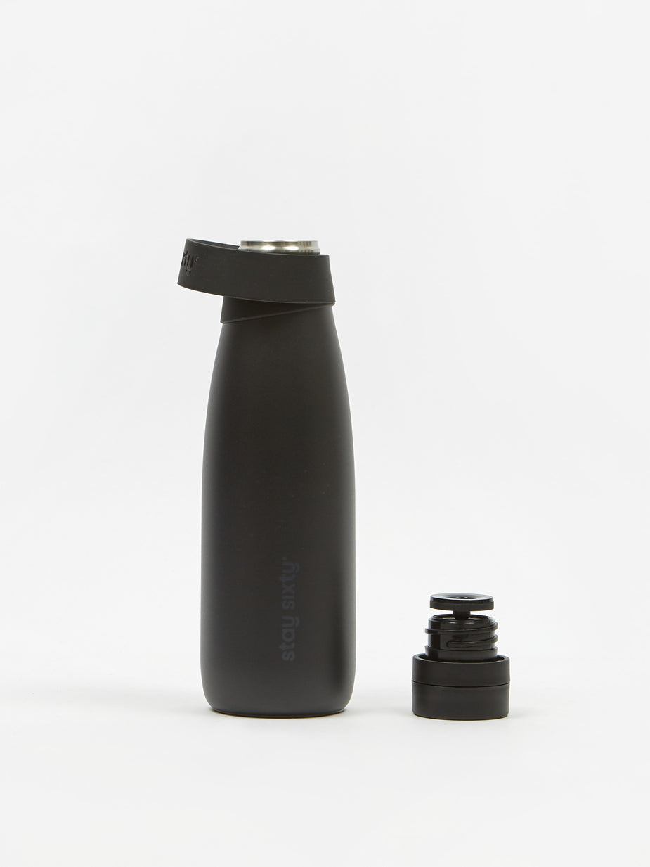 Stay Sixty Stay Sixty Series II Bottle - Coal - Black