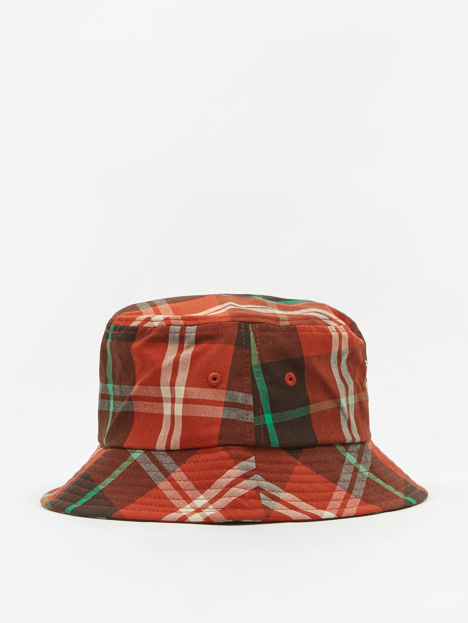 Stussy Stussy Big Logo Madra Bucket Hat - Orange - Orange