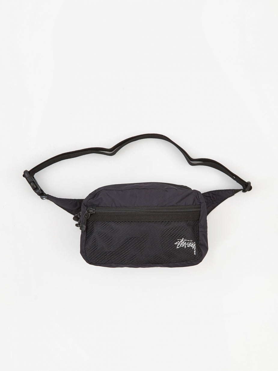 Stussy Stussy Light Weight Waist Bag - Black - Black