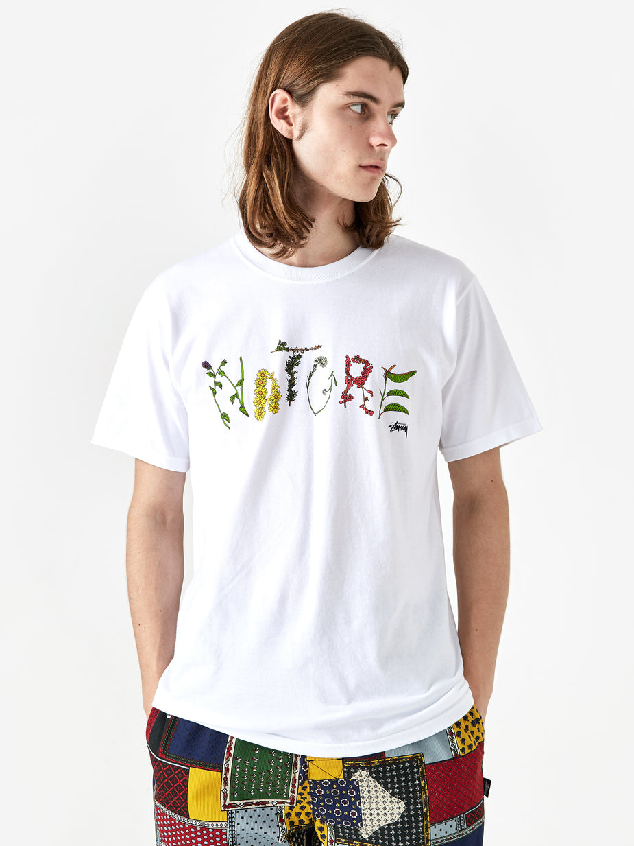 Stussy Stussy Nature Shortsleeve T-Shirt - White - White