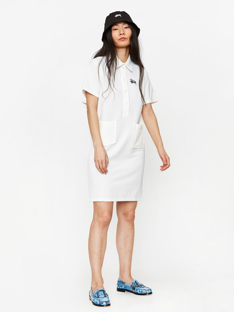 Stussy Stussy Poly Knit Dress - White - White