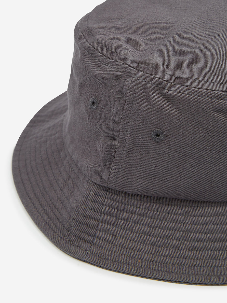 Stussy Stussy Stock Bucket Hat - Grey - Grey