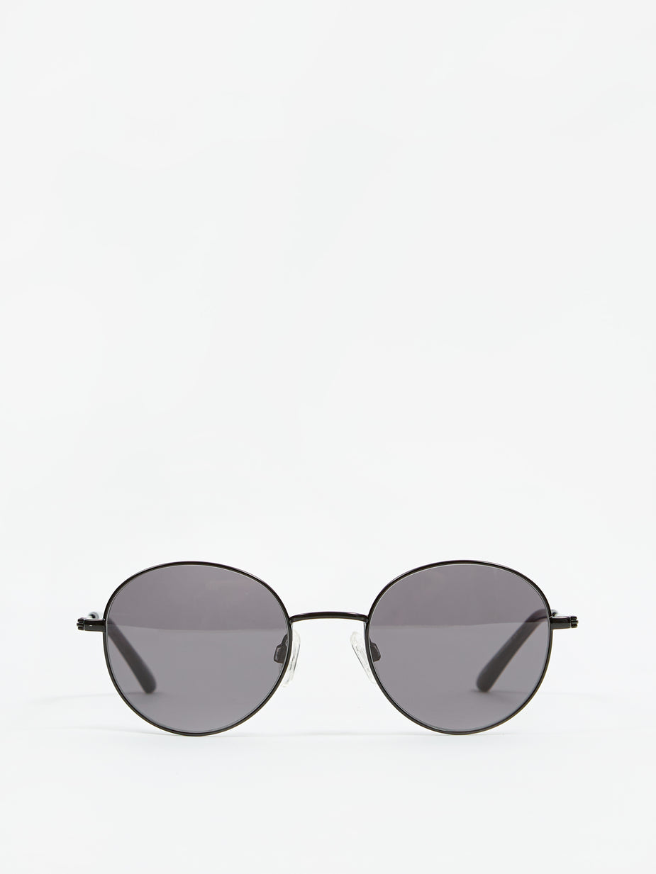 Sun Buddies Sun Buddies Ozzy Sunglasses - Black/Transparent Grey - Black