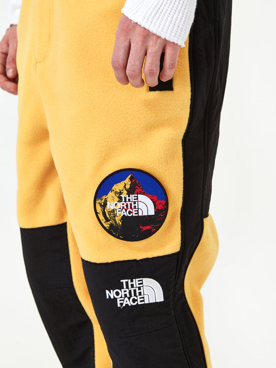 The North Face Black Label The North Face 7SE Himalayan Fleece Suit - Yellow - Yellow