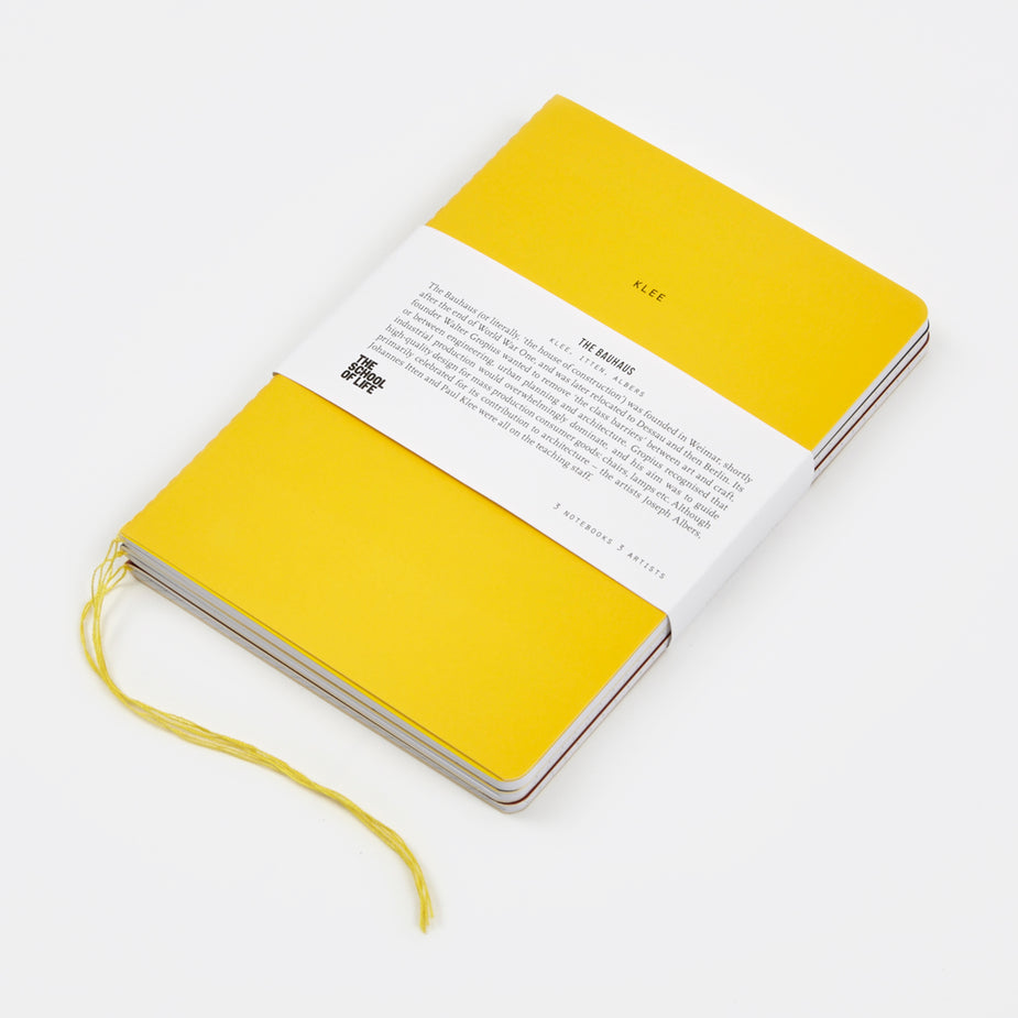The School of Life The School of Life School of Thought Notebooks - The Bauhaus