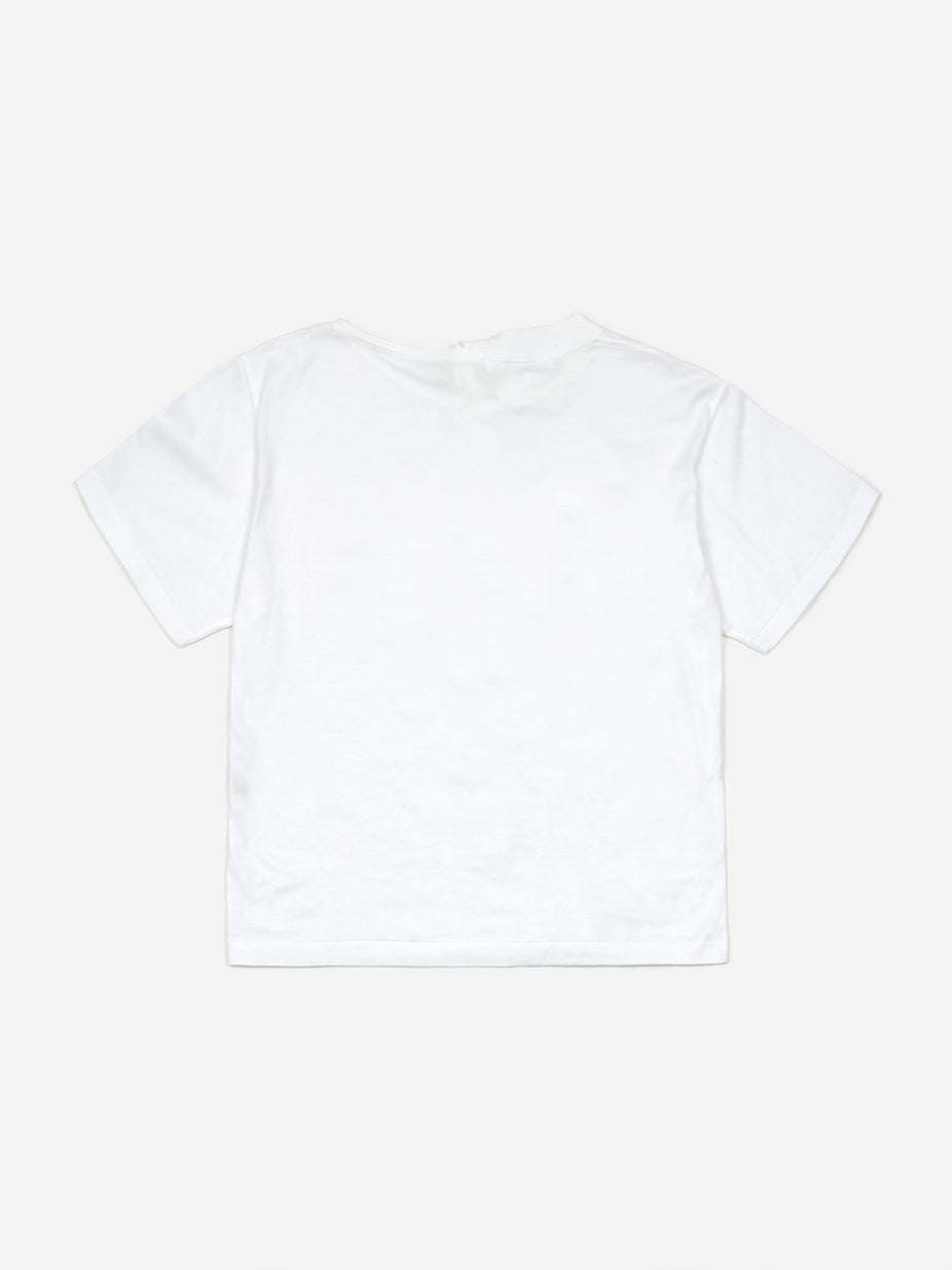 TOGA TOGA PULLA Silket Jersey Shortsleeve Top - White - White
