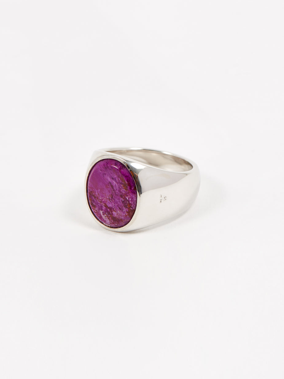 Tom Wood Tom Wood Oval Ring - Sugulite