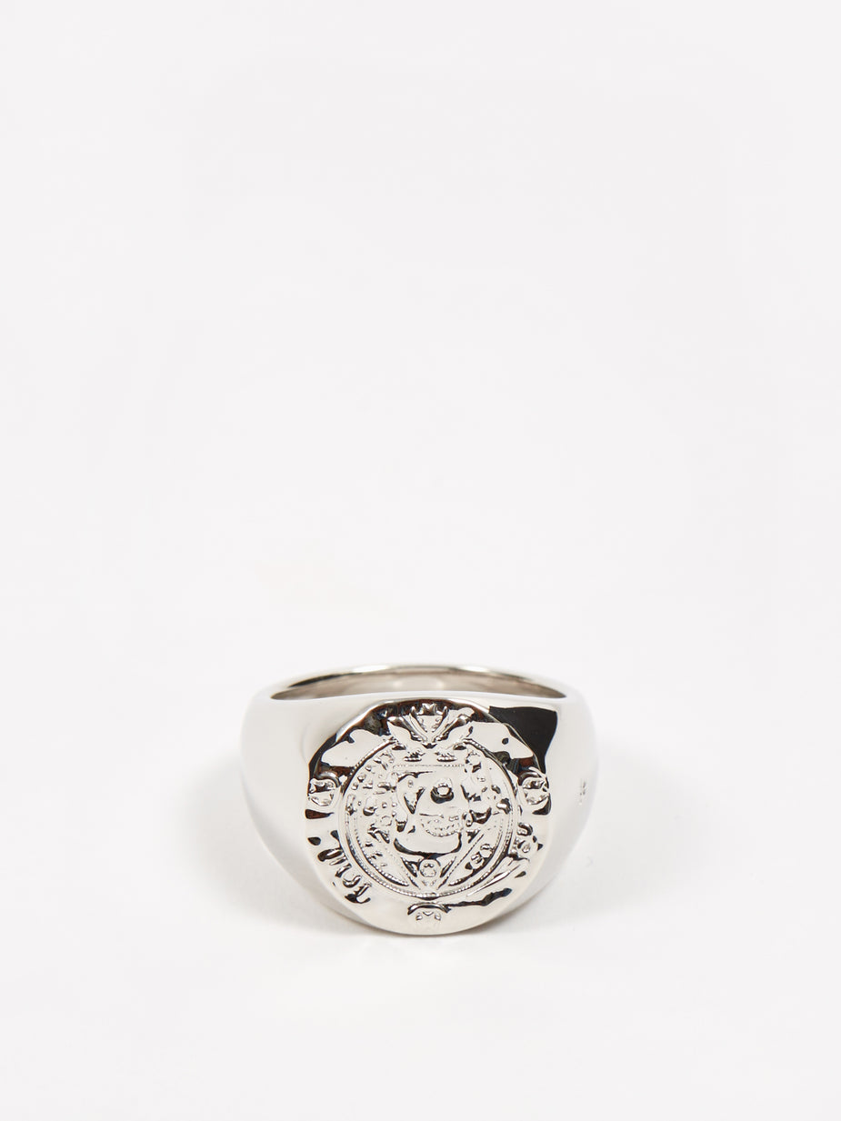Tom Wood Tom Wood Silk Coin Ring - Sterling Silver - Silver