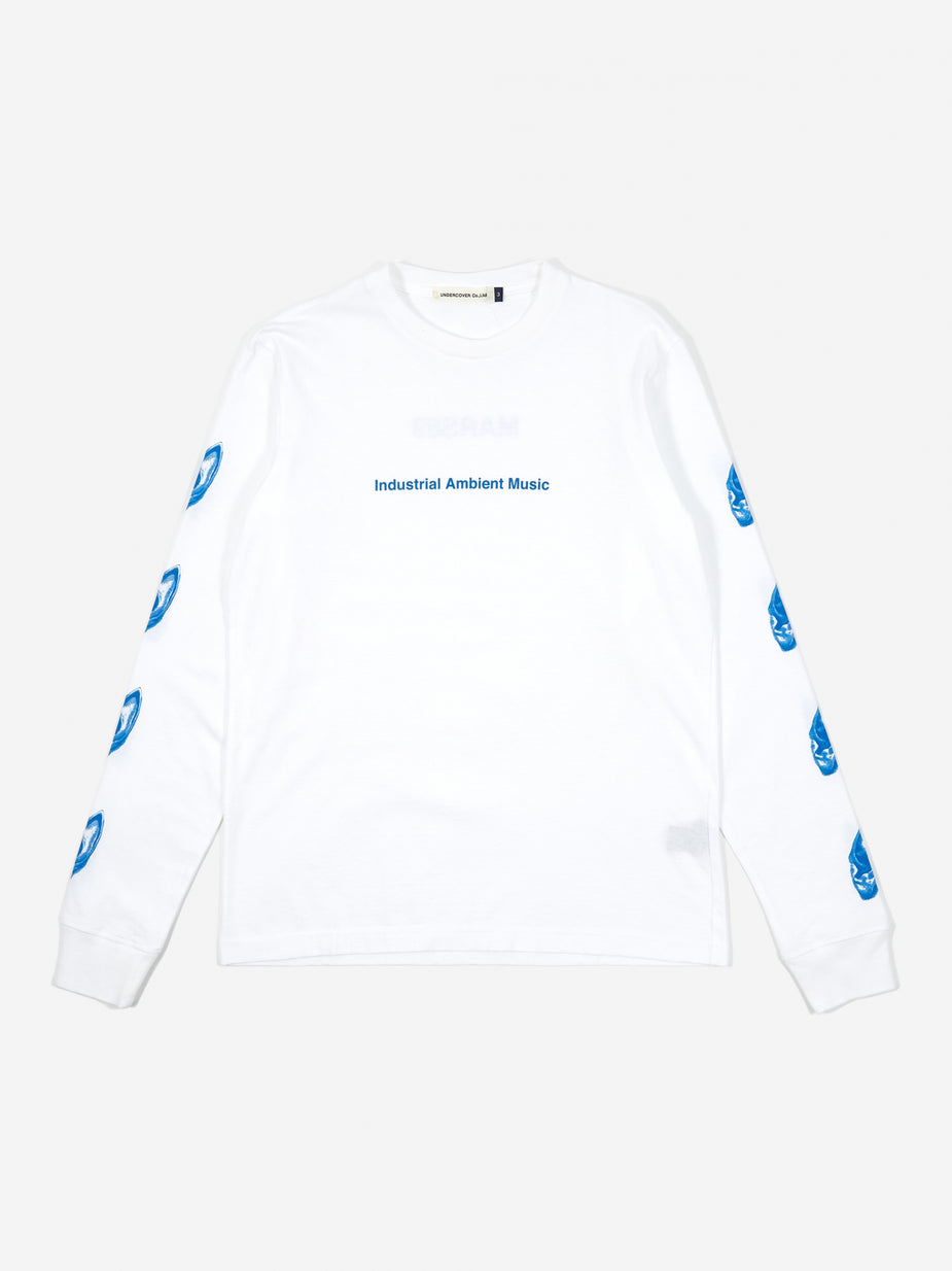 Undercover Undercover Industrial Ambient Music Longsleeve T-Shirt (UCX4891 - White - White