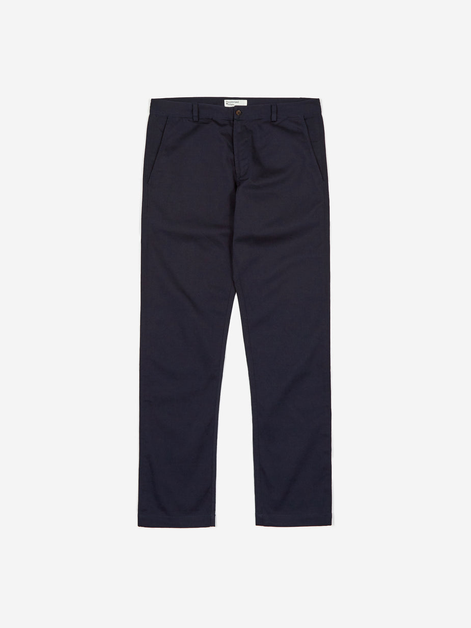 Universal Works Universal Works Aston Pants - Navy Twill - Blue