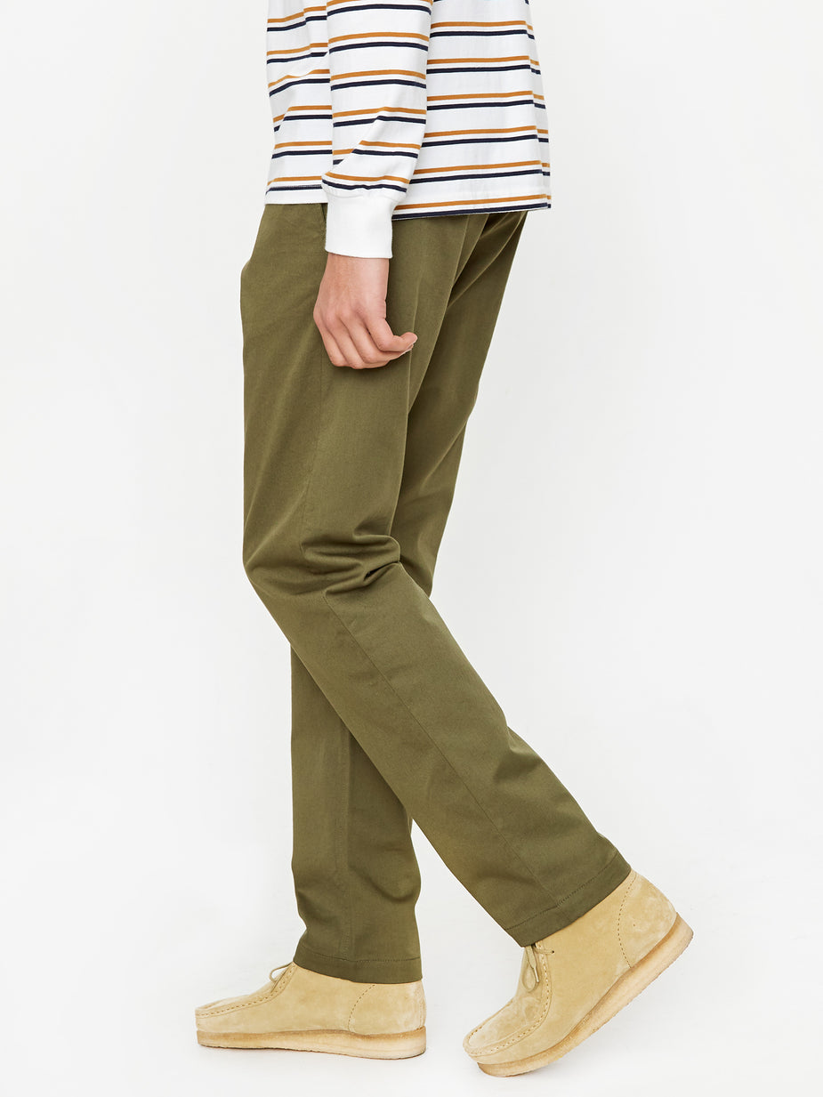 Universal Works Universal Works Aston Pants - Olive - Green