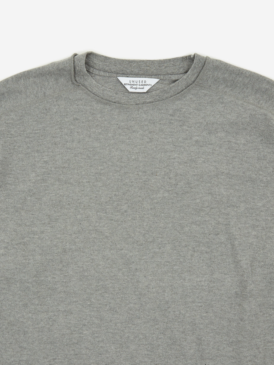 Unused Unused Longsleeve T-Shirt - Heather Grey