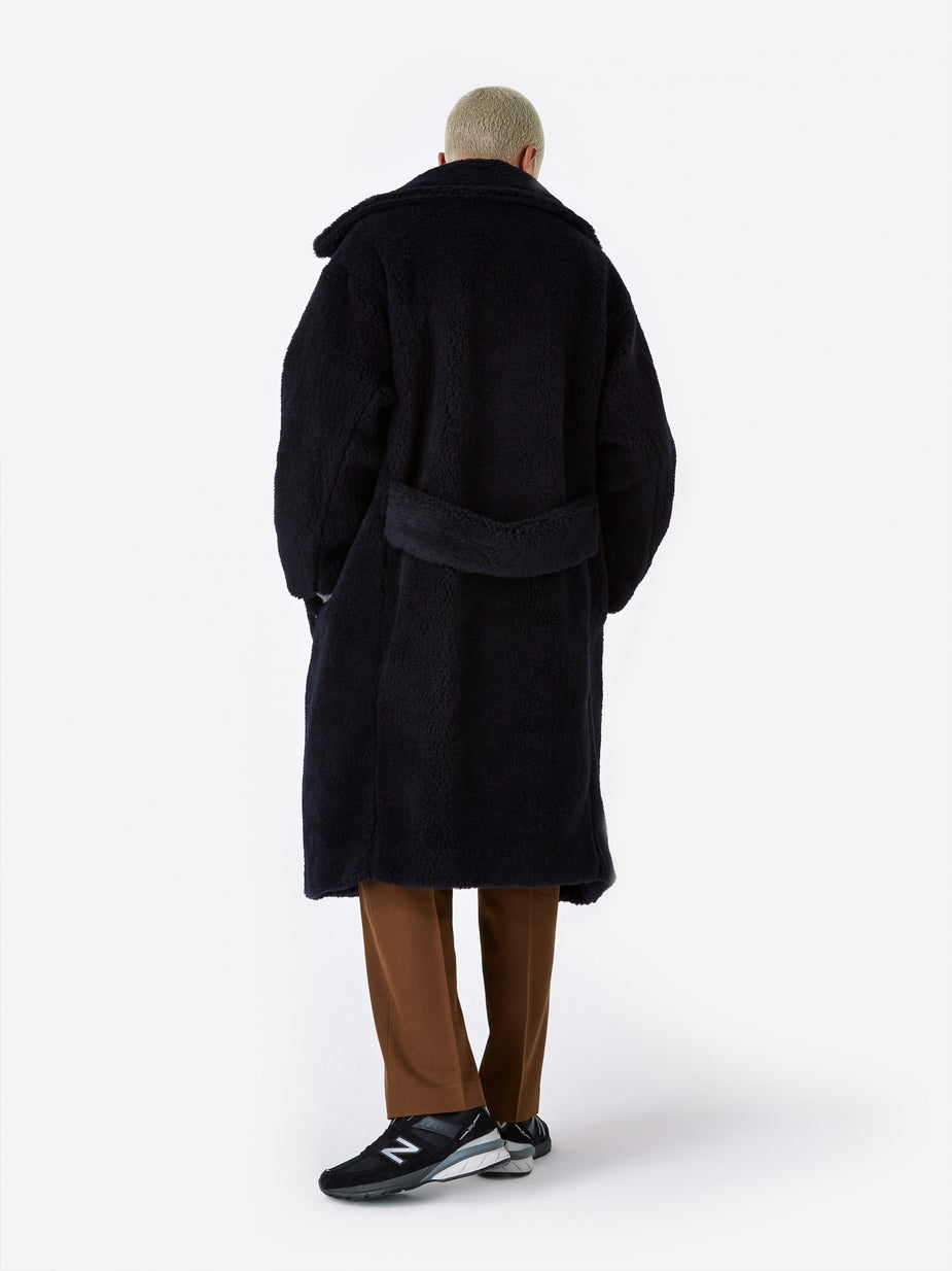 Unused Unused Oversized Coat (US1668) - Navy