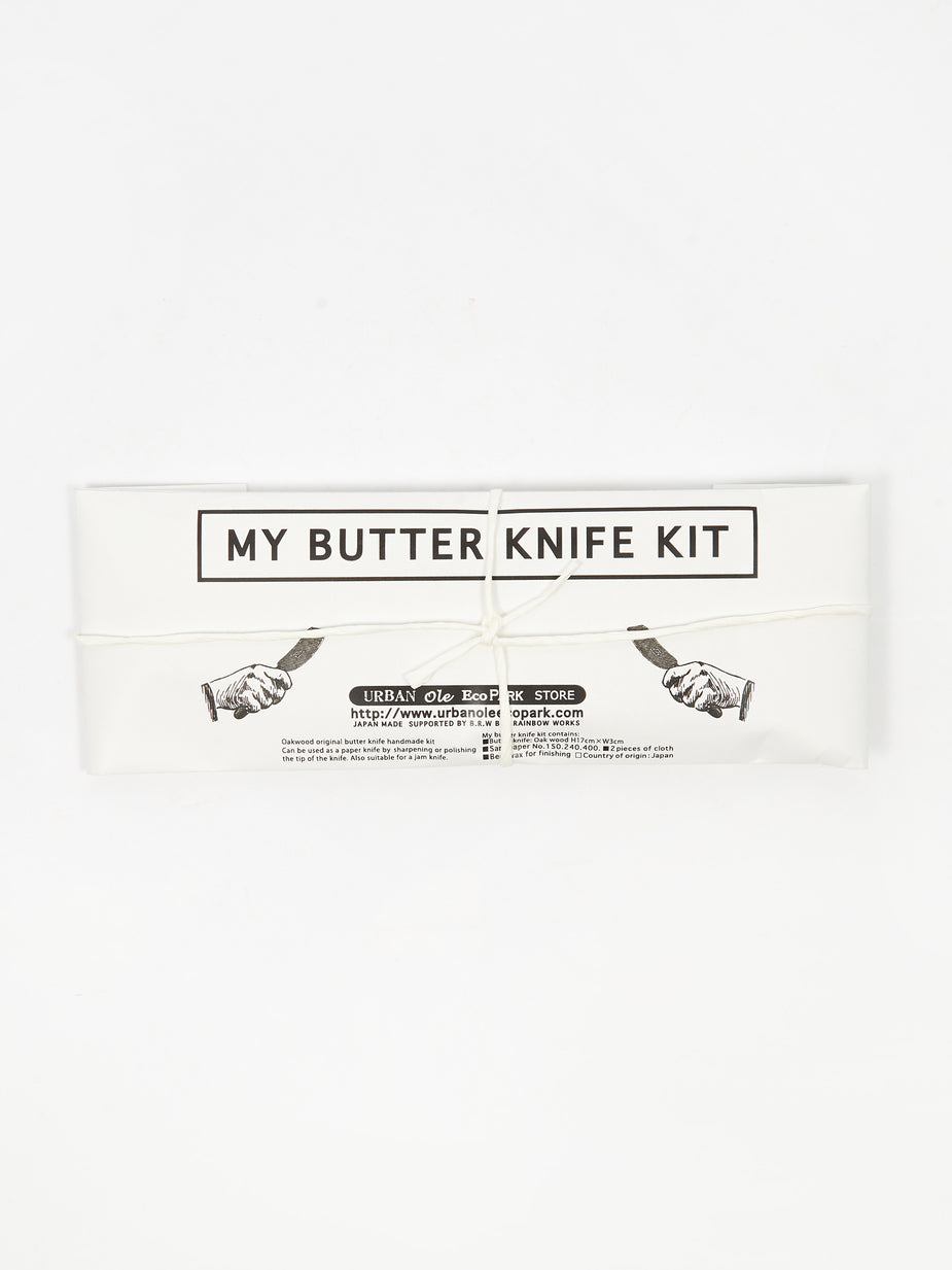 Urban Ole Echopark Urban Ole Ecopark My Butter Knife Whitteling Kit - Other