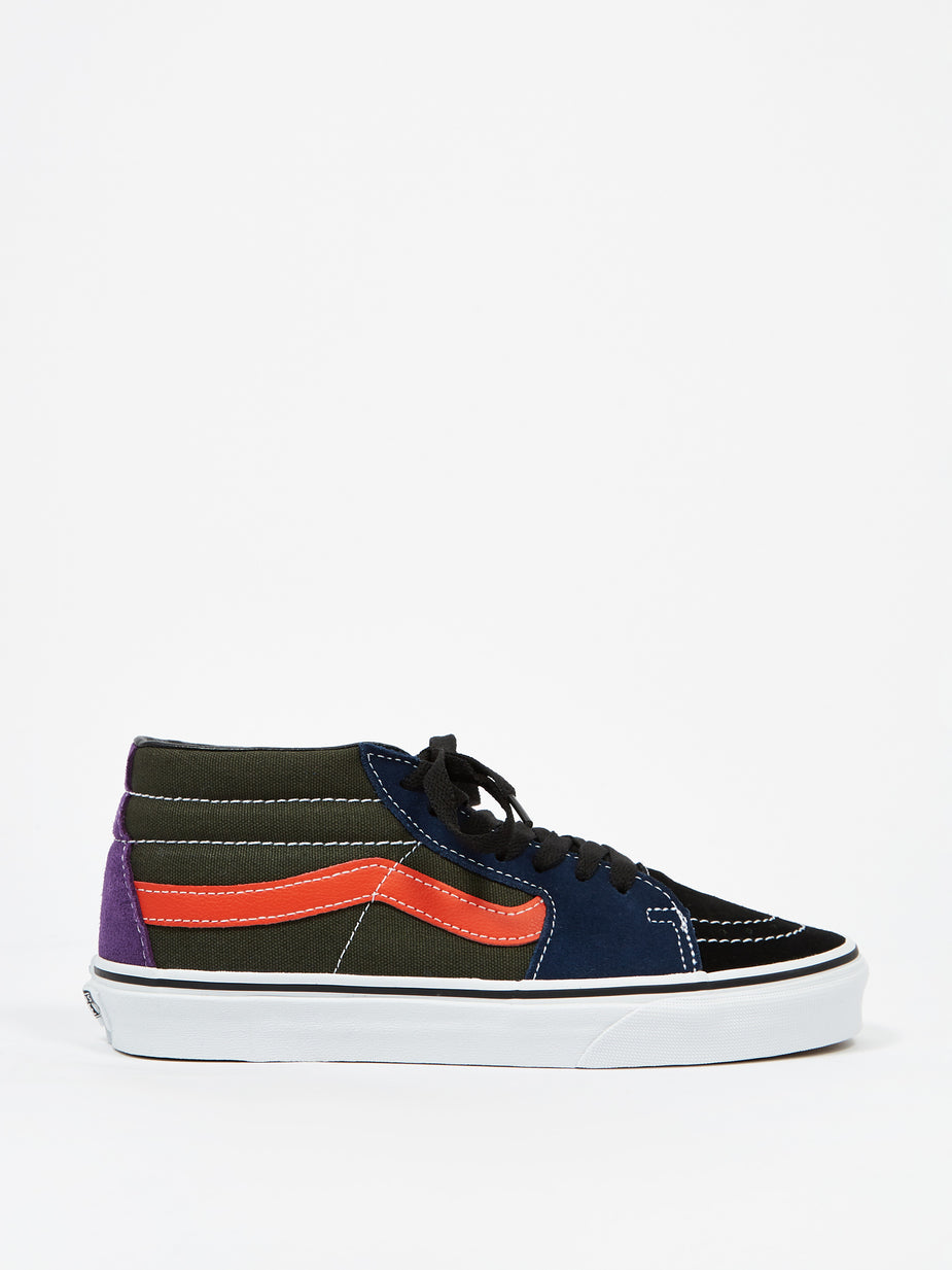 Vans Vans UA Sk8 Mid - Violet Indigo/Forest Night - Purple