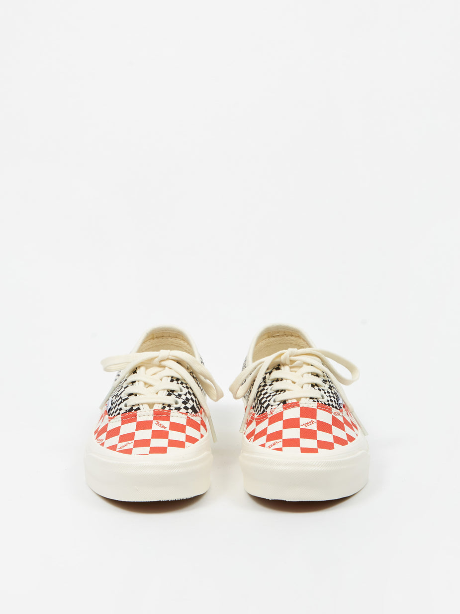 Vans Vans Vault UA OG Authentic LX - Logo Check/Flame/Black - Multi