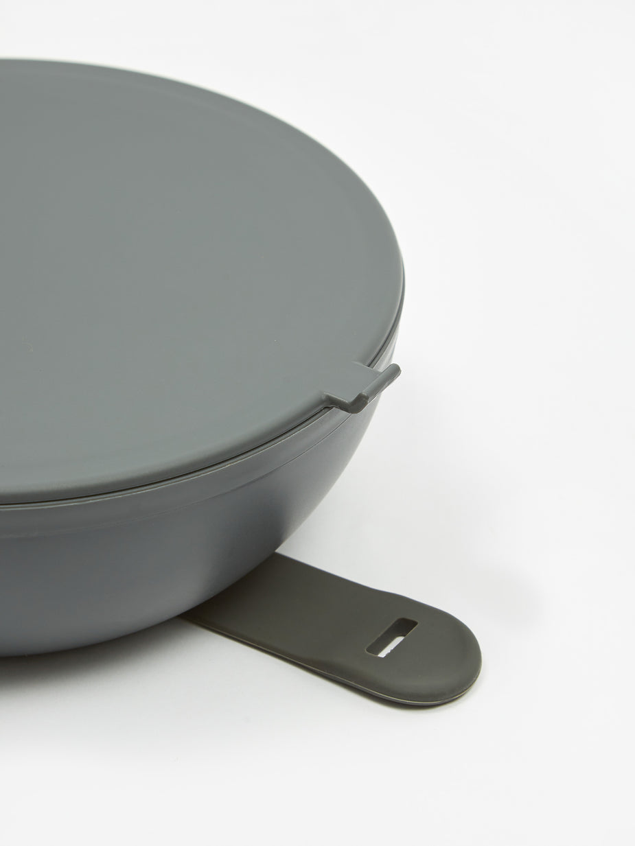 W&P Design W&P Design The Porter Bowl Plastic - Charcoal - Grey