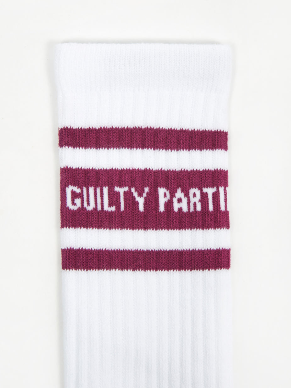 Wacko Maria Wacko Maria Skater Socks Type 2 - White/Purple - White