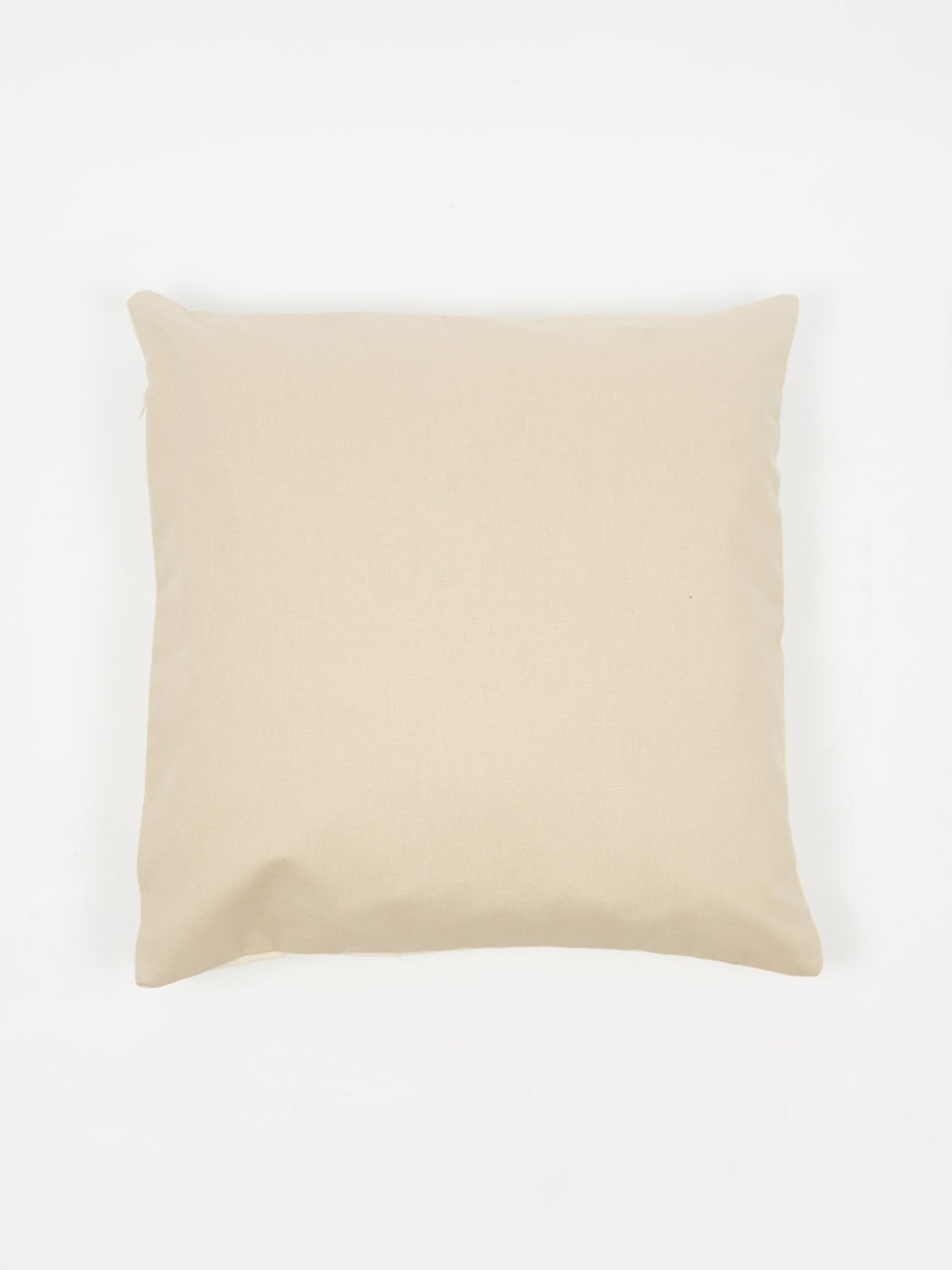 Way Down Home Way Down Home Sidewinder Cushion Cover - Bone - White