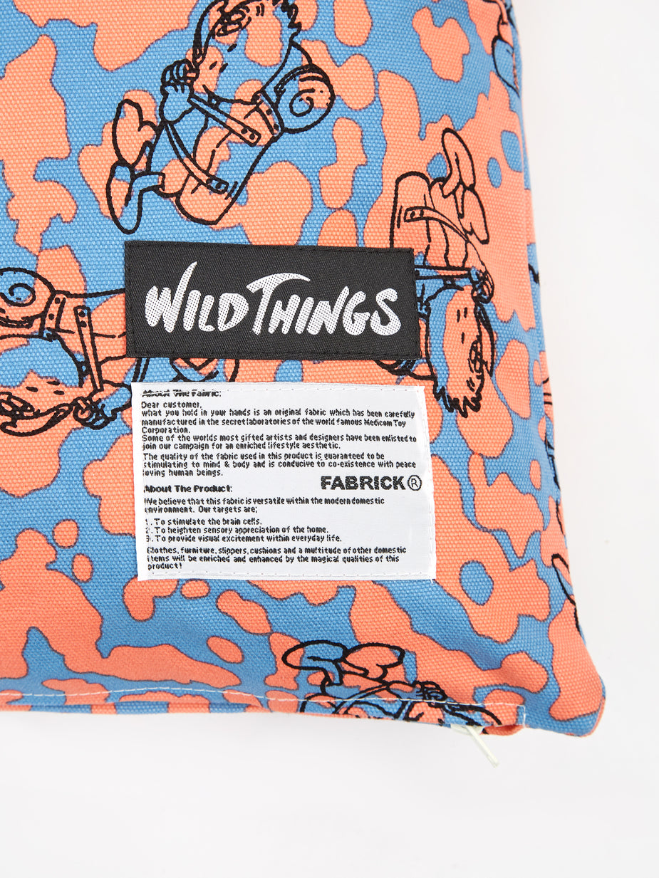 Wild Thing x Gasius x Fabrick Wild Things x Gasius x Fabrick Square Cusion & Pillow - Multi - Multi