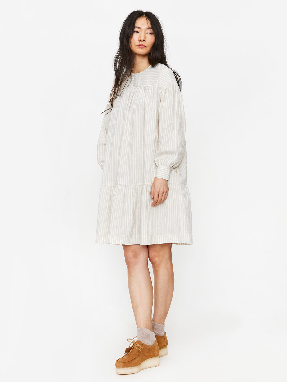 Wood Wood Wood Wood Dina Dress - Cream - Neutrals