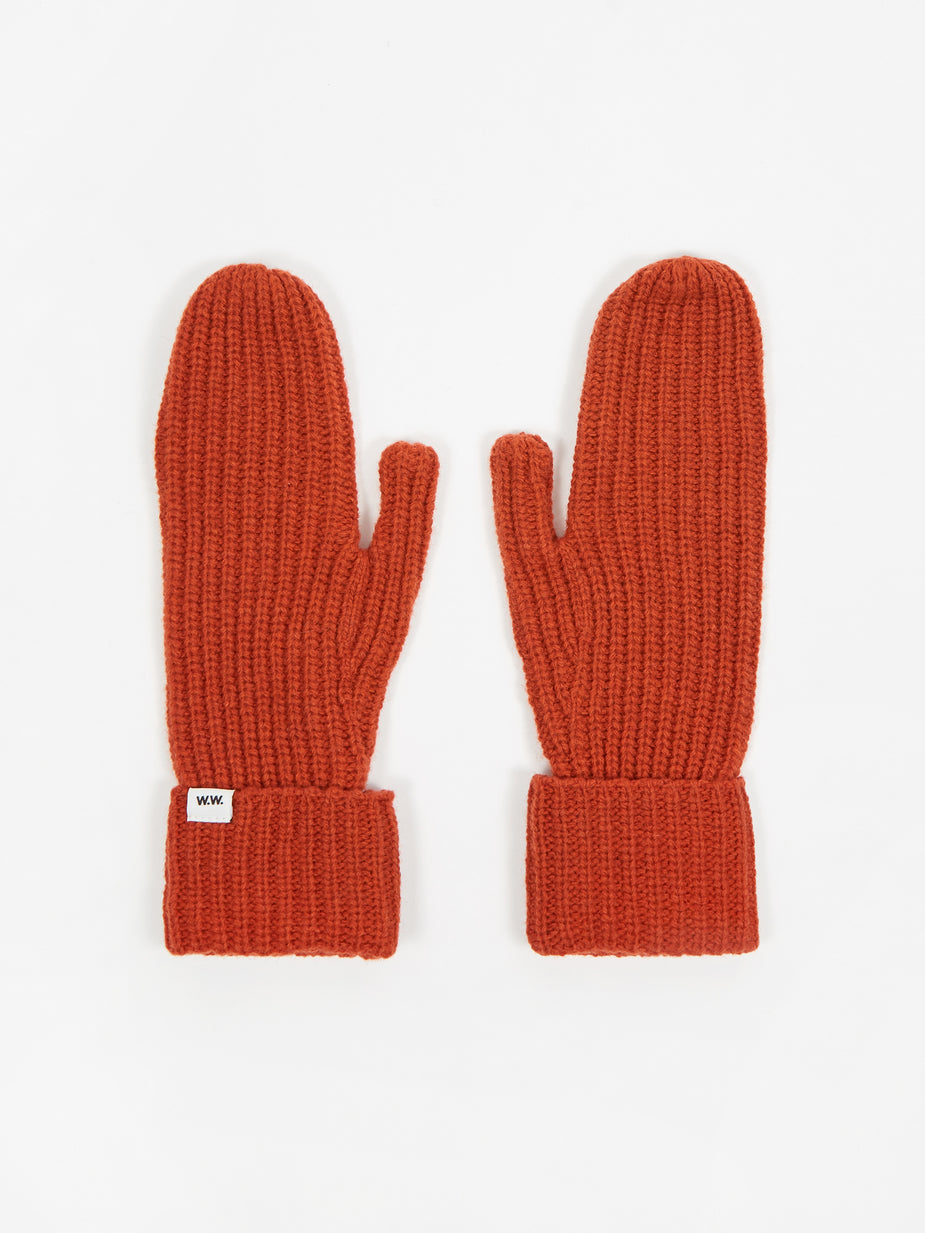 Wood Wood Wood Wood Elna Gloves - Orange - Orange
