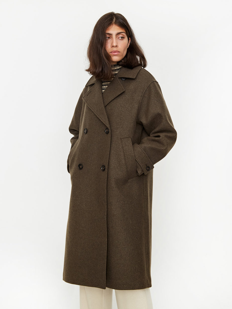 Wood Wood Wood Wood Phoebe Coat - Dark Green - Green