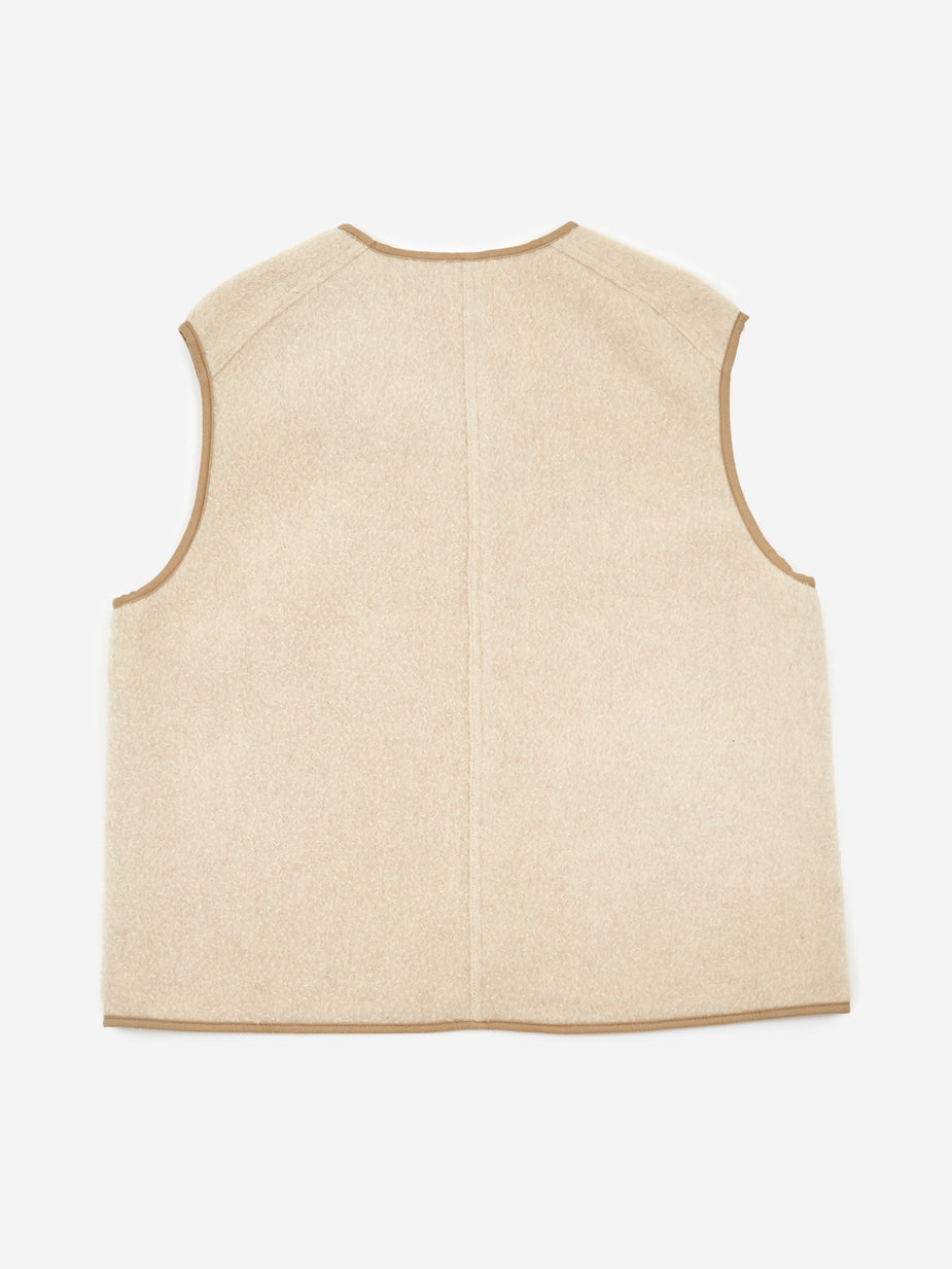 Wood Wood Wood Wood Victor Vest - Light Beige - Neutrals
