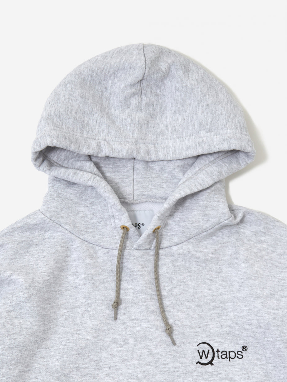 WTAPS WTAPS Axe 02 Hooded Sweatshirt - Ash Grey - Grey