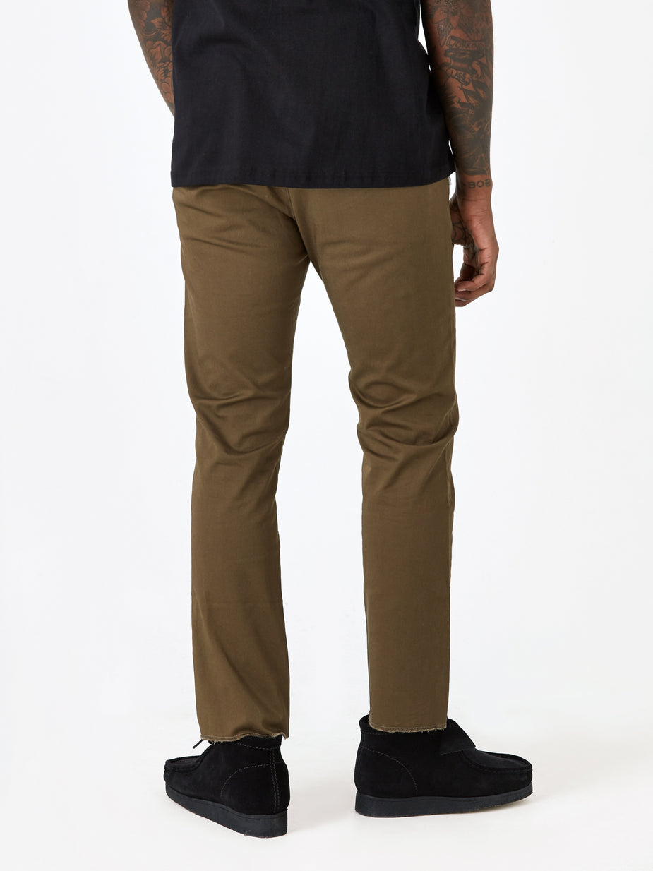 WTAPS WTAPS Khaki Tight Trouser - Olive Drab - Green