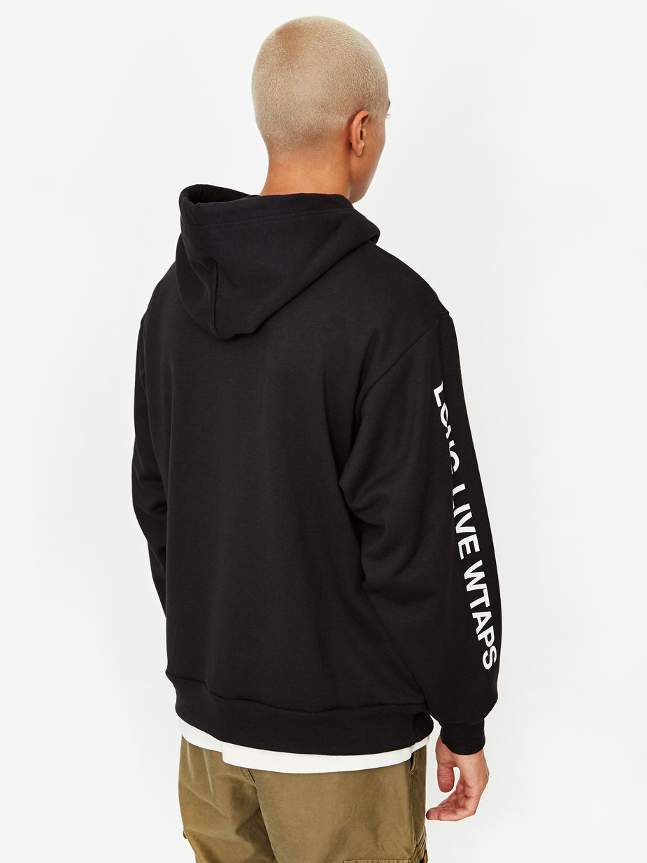 WTAPS WTAPS LLW Hooded Sweatshirt - Black - Black