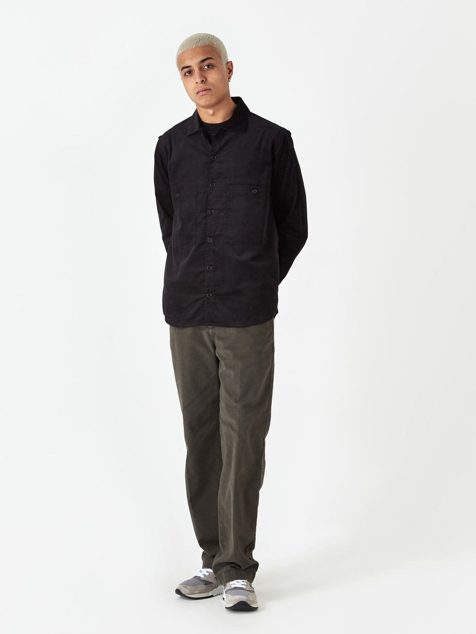 YMC YMC Doc Savage Shirt - Black - Black