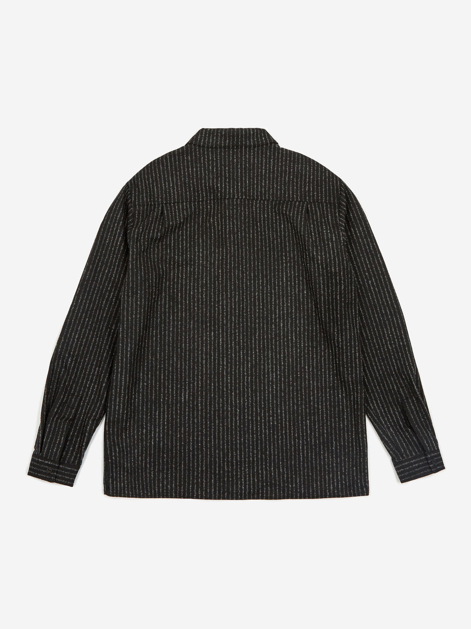YMC YMC Feathers Shirt - Black/Ecru - Black