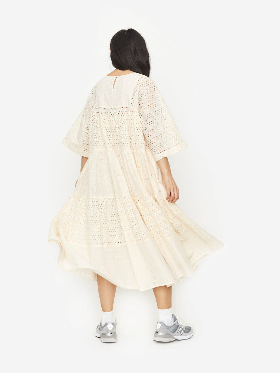 YMC YMC Paloma Dress - Ecru - Neutrals