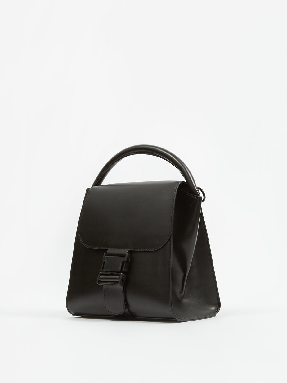 Zucca Zucca Buckle Bag Medium - Black - Black