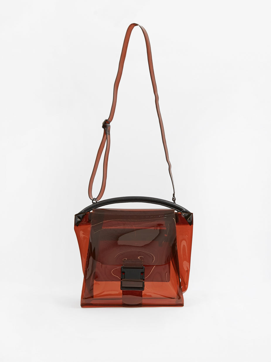 Zucca Zucca Buckled Bag Candy Large - Brown - Brown