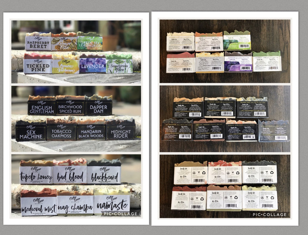 Seasonal Cellar Door Soaps - Buy 3 and save!
