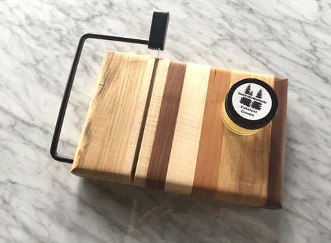 Handcrafted cheese slicer