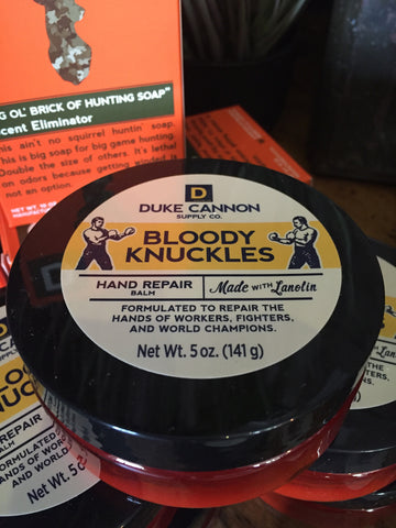 Bloody Knuckles Hand Repair Balm (back ordered)